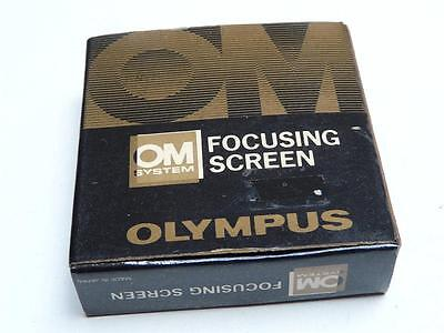 Olympus Genuine OM Focusing Screen 1-1 Standard Microprism Matte for Most Lenses