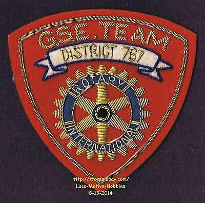 LMH PATCH Badge  ROTARY CLUB Int'l  DISTRICT 767  GSE Team  Group Study Exchange