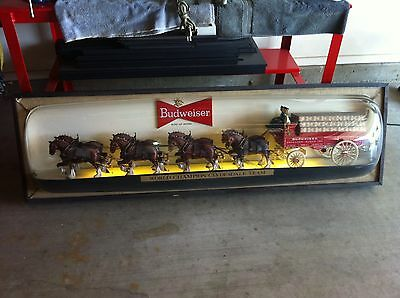 """BUDWEISER """" CLYDESDALE """" 6 foot Bubble Lighted Sign"""
