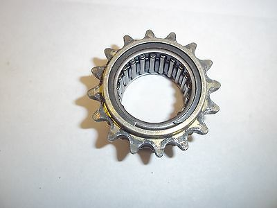 DIRT GO KART FRONT DRIVER / SPROCKET GEAR 219 PITCH 16 TOOTH USED 2AFC0612
