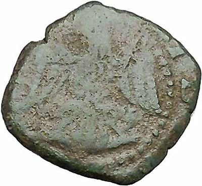 PHILIP II King of Spain and Sicily 1556AD Eagle Authentic Antique Coin i41361