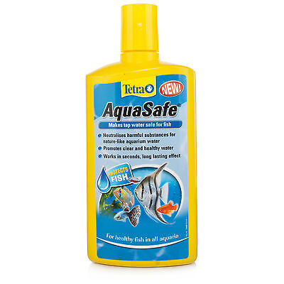 TETRA AQUASAFE AQUARIUM WATER TREATMENT 100ml