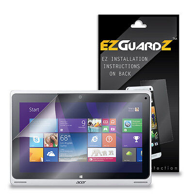 2X EZguardz NEW Screen Protector Skin HD 2X For Acer Aspire Switch 10 (Clear)