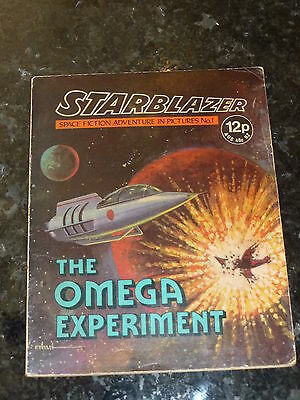 STARBLAZER Comic - No 1 - Date 1979 - D C Thomson Comics