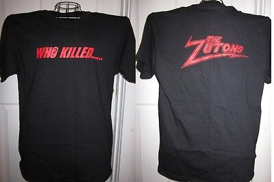 The Zutons Who Killed... promo t-shirt - NEVER WORN