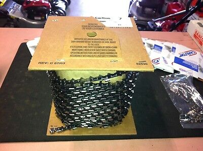 Carlton Chainsaw Chain 100 ft Roll 3/8 .063 NEW semi chisel american suit stihl