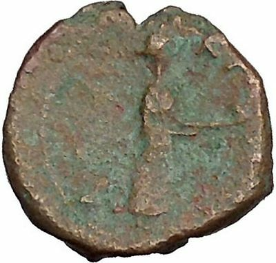 KATANE in SICILY 339BC Apollo & Aphrodite with Dove Ancient Greek Coin i41379