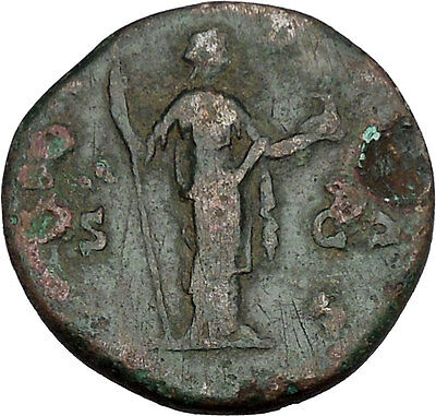 CRISPINA Possibly Unpublished Big Rare Ancient Roman Coin Nobilitas i42208