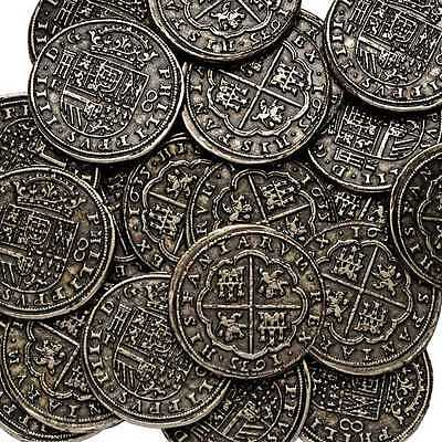 Silver Pieces Of Eight Pirates Treasure Spanish Armada Coin One Coin Per Order
