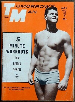 Tomorrow's Man vintage Beefcake Gay interest magazine May 1965
