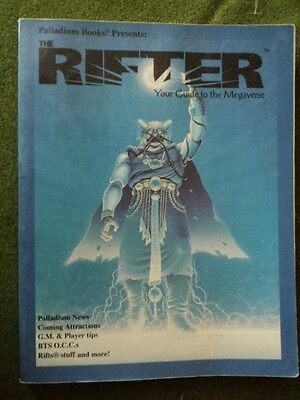 Rifts The Rifter Number One #1 Palladium Books USED trade paperback