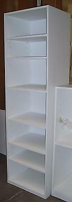 NEW Wardrobes Built in Cabinet Storage Organiser Insert All Shelves 1800mm