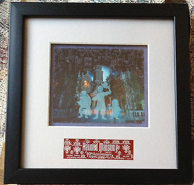 Disney Haunted Mansion: Room for 1 More Passholder Exclusive Picture/Cel