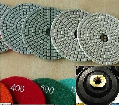 "3"" Diamond Polishing Pad 25 PCS Granite Concrete Marble Stone Glass Travertine"