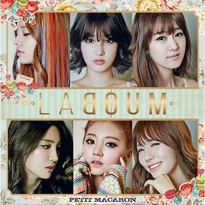 LABOUM - [PETIT MACARON] 1st Single Album CD + Photo Booklet K-POP Sealed
