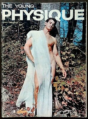 THE YOUNG PHYSIQUE vintage Beefcake Gay interest magazine April 1962