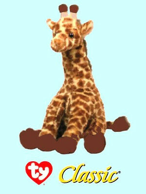 "Ty® 14"" Hightops Classic® Large Giraffe AMAZINGLY REALISTIC"