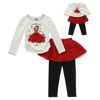 Nwt Dollie & Me Merry Christmas Holiday American Girl Tutu Dress 6X Last One!