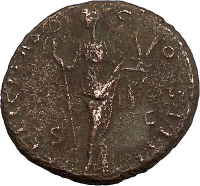 Antoninus Pius Marcus Aurelius Father Big Ancient Roman Coin Good luck i42245