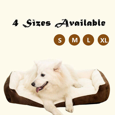 Super Warm Soft Indoor Puppy Pets Dog Cat Bed House Basket Nest Mat Waterproof