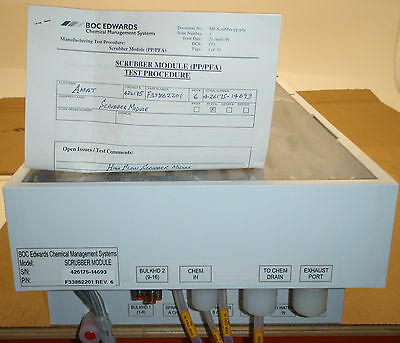 AMAT MIRRA 0190-77362 Edwards Chemical Management Scrubber Module F33862201