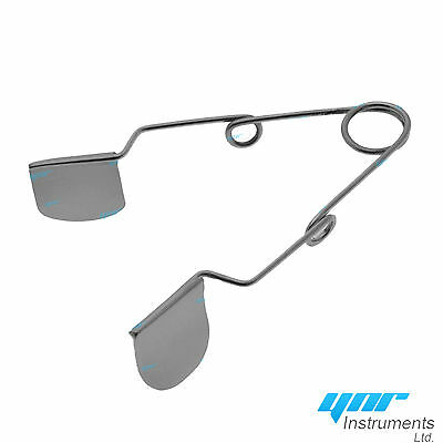 YNR Barraquer wire eye Speculum with Solid Blade Ophthalmic Instrument CE