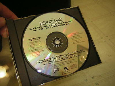Faith No More Promo Cd 1995 32 Cents For Postage My A** This Will Mike Patton