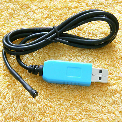 Digital USB DS18B20 1wire -55+125C thermometer probe for linux win pc