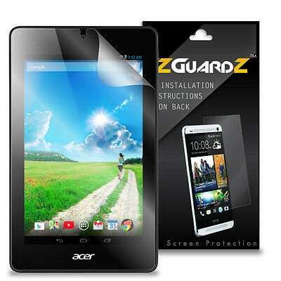 3X EZguardz LCD Screen Protector Skin Cover HD 3X For Acer Iconia One 7 B1-730
