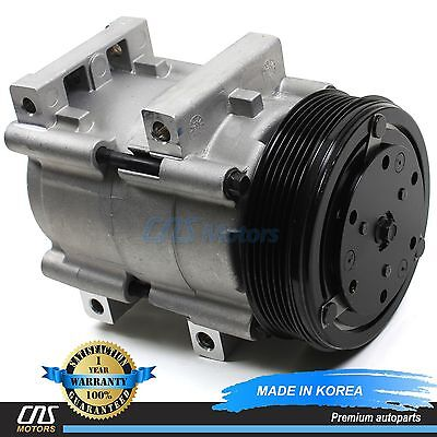 NEW A//C AC Compressor w// Clutch 58140 FS10 90-06 Ford Mercury 3.0L 4.0L 5.0L