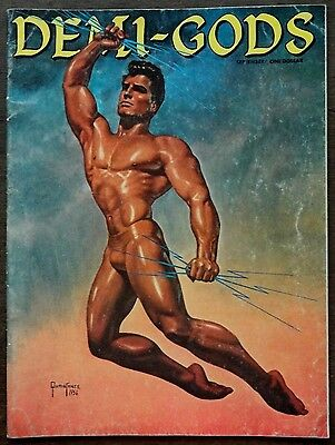 DEMI GODS vintage Beefcake Gay interest magazine Sept 1962