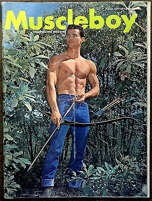 MUSCLE BOY vintage Beefcake Gay interest magazine Vol 2 #4 June/July 1965