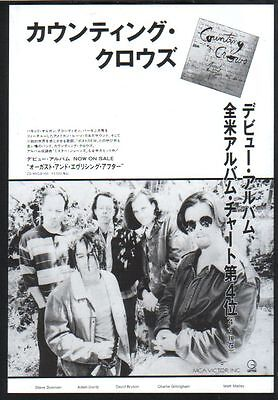 1994 Counting Crows August and JAPAN album promo ad / mini poster advert c005c