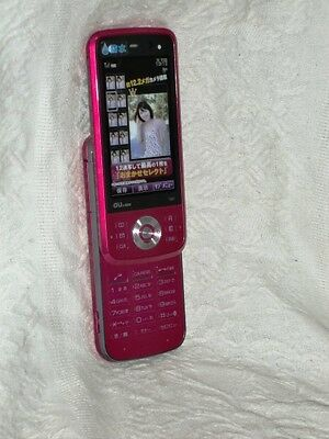 au by KDDI T007 Toshiba Pink Japanese Japan Dummy Fake Display Cell Phone D