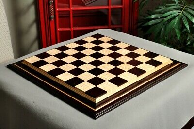 Signature Contemporary IV Luxury Chess board - AFRICAN PALISANDER / CURLY MAPLE