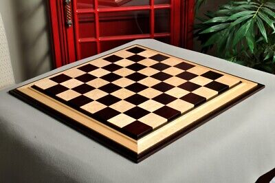 Signature Contemporary III Luxury Chess board - AFRICAN PALISANDER / BIRD'S EYE