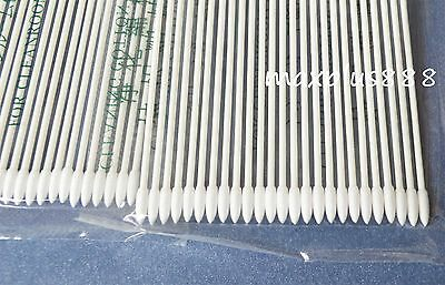 300pcs pointed Gun Tip Double Point Cleaning Cotton Swab for printer (15-005)