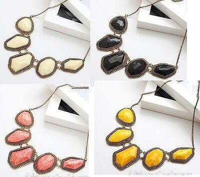 New Arrived 1pcs Fashion Women Resin  Bib Necklace A1084