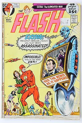 DC Comics The Flash #210 1971 Vintage Bronze Age Murphy Anderson Cary Bates