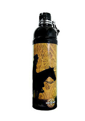 Horse  Western Horse Riding Merchandise Travel Bbq Stainless Steel Water Bottle