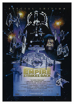 Star Wars: Empire Strikes Back V4 - A1/A2 Poster *BUY ANY 2 AND GET 1 FREE OFFER