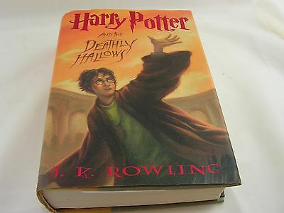 Harry Potter and the Deathly Hallows HARDCOVER First Edition