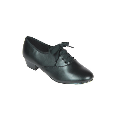 Mens / Boys Black Oxford low heel Tap Shoes - all sizes