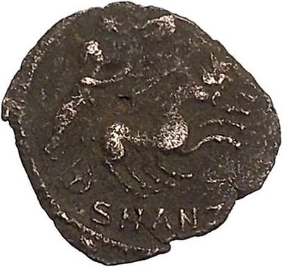 CONSTANTINE I the GREAT Cult  Heaven Horse Chariot Ancient Roman Coin i42465