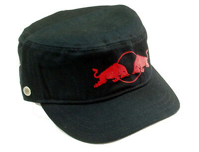 Authentic Puma Red Bull Racing Team Blue Cap Military Style Adjustable Strap