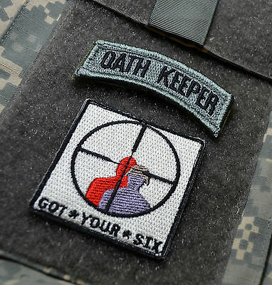 MILITARY SERVICE MEMBER NATION'S FREEDOM DEFENDER SSI Got*Your*Six + OATH KEEPER