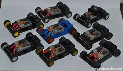 Micro scalextric fully serviced replacement chassis track tested ready to run