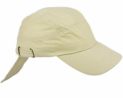 Mens & Ladies Adjustable Baseball Cap - BEIGE SUMMER DESERT STYLE HAT-  003