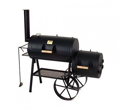 "Barbeque Smoker / Holzkohle Grill Joe´s BBQ 16"" Wild-West 70x40cm"