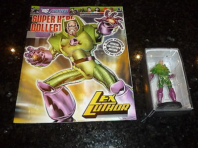 SUPER HERO COLLECTION Comic - No 11 - LEX LUTHOR - DC Comic (With Character)